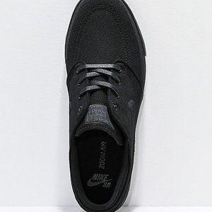 New Nike SB Janoski Black Canvas Skate Shoes